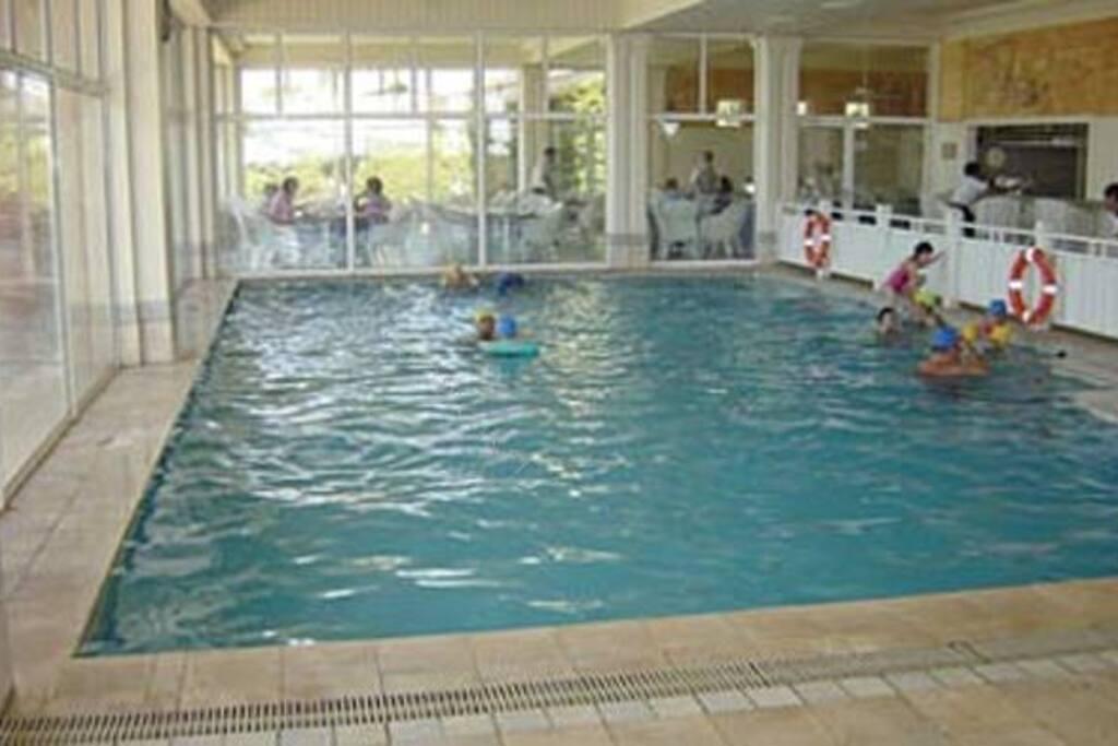 piscina temperada para el invierno