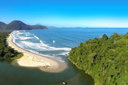 Suíte Muitas Canoas - praia de  Itamambuca