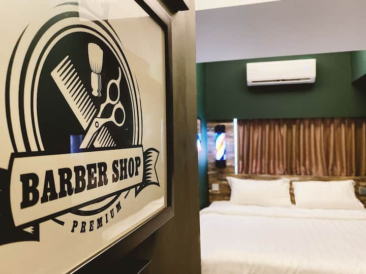 The Barber Room @ The Atelier Boutique Hotel