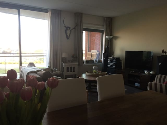 Cosy new appartement with waterview - Noorden - Leilighet