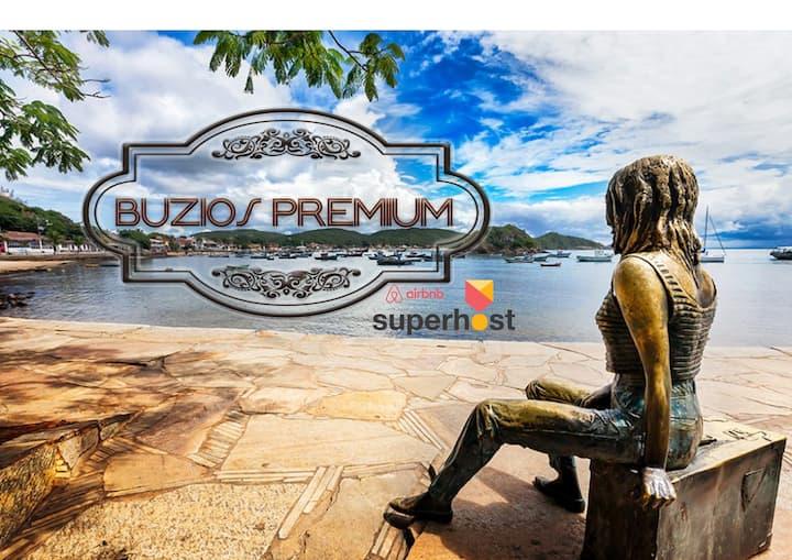 Buzios Premium Geriba ao lado da praia