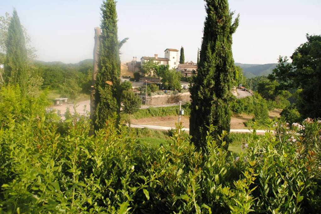 il borgo. The hamlet