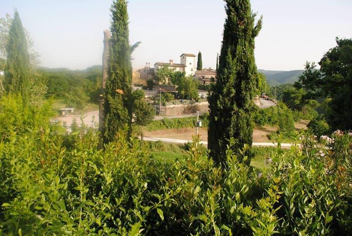 Umbria Spoleto messenano's Castle