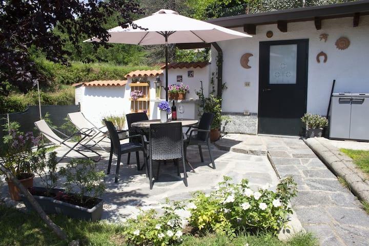 Chalet dei Laghi con giardino