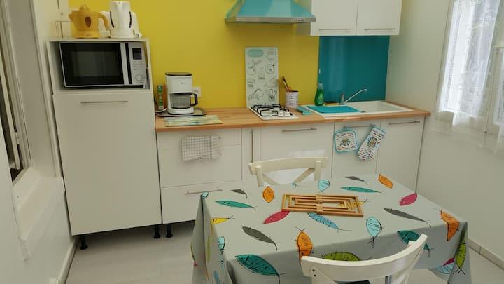 """Les """"sardines"""", appartement au calme proche plage"""