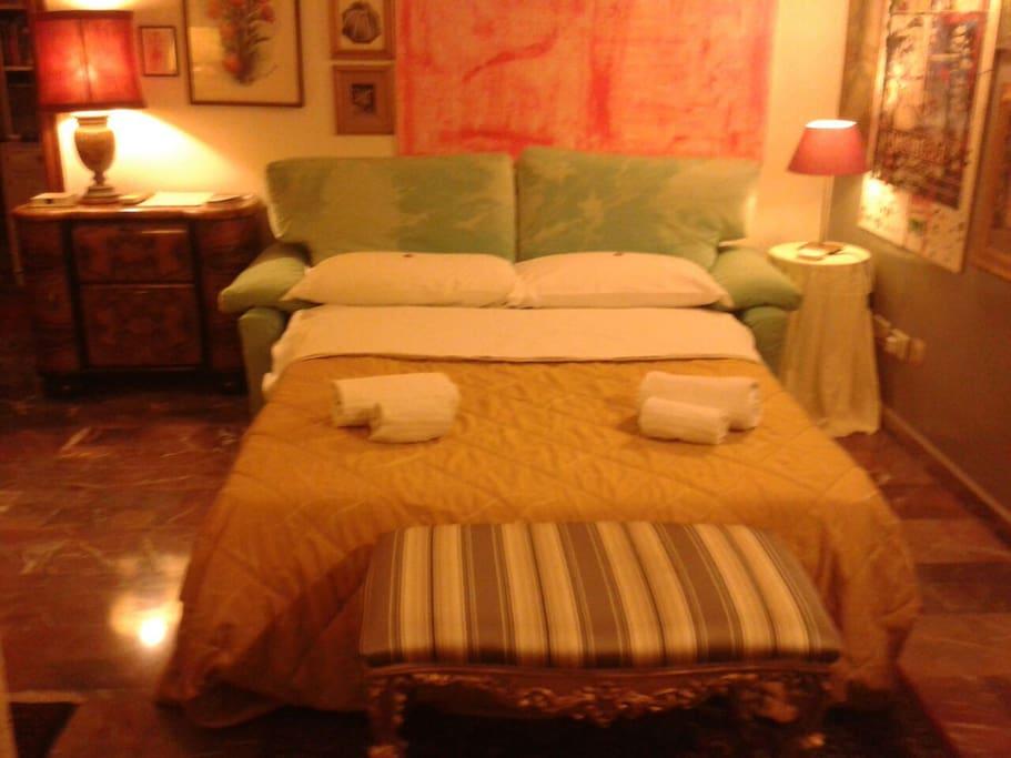 Il vostro letto!
