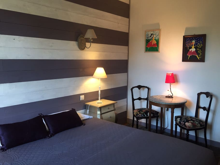 Clair de lune b b sarlat centre private parking for Chambre d hotes sarlat