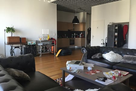 Room type: Entire home/apt Bed type: Real Bed Property type: Loft Accommodates: 2 Bedrooms: 1 Bathrooms: 1.5