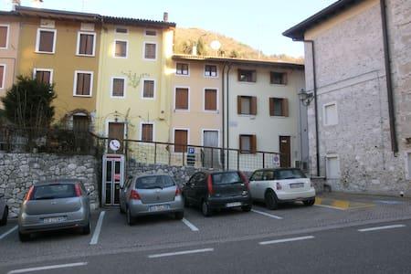 Doppelzimmer in Ferienhaus - Barcis