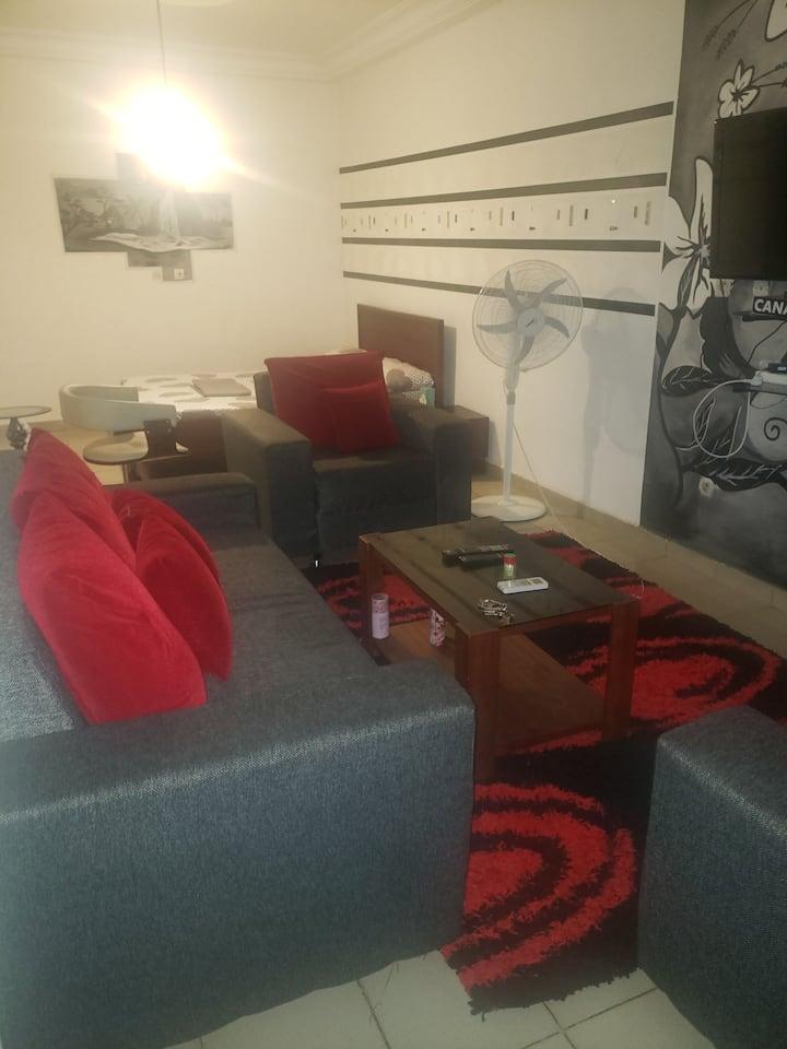 Résistance meublée (studio) à yopougon ananeraie
