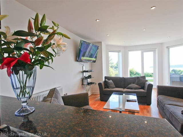 Cornwall, 2 bed Apartment - Carlyon Bay - Lejlighed