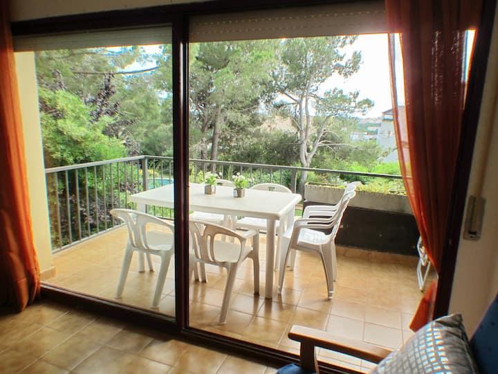 Apartment La Fosca. 300 m from the beach