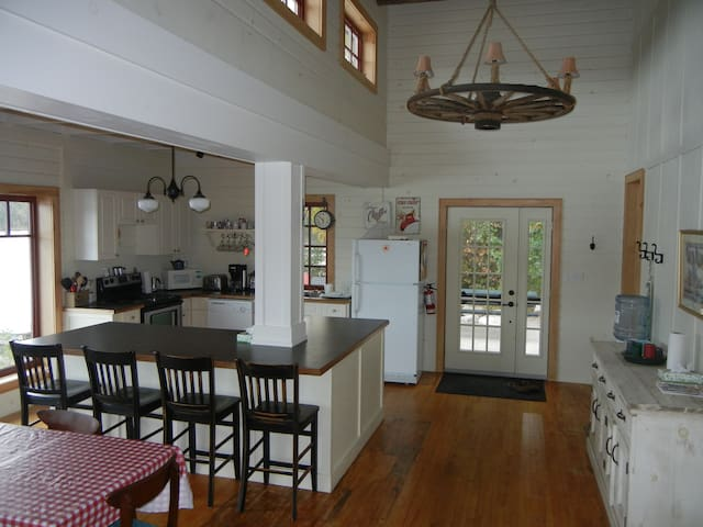 entry and kitchen at Annie's