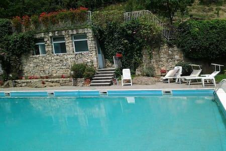 relax in collina a 2 passi dal lago - Celatica-tolari - 公寓