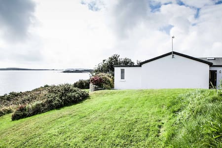 Seaside home with own pier! - Schull