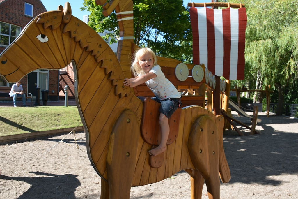 Ribe Byferie Resort - viking playground