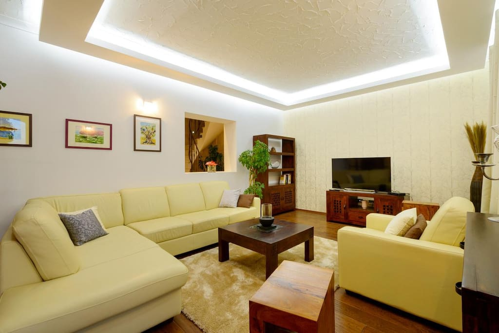 Living room 1, Surface: 35 m²