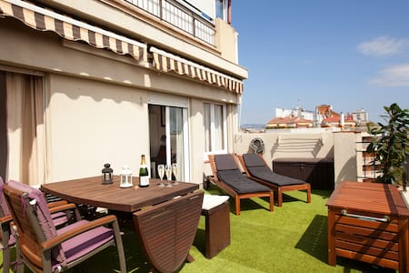 Boutique Terrace : Private Terrace