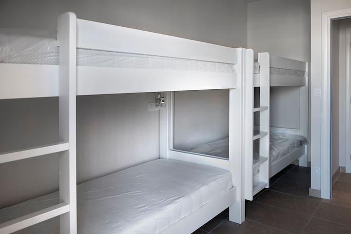 4 can sleep high or low 90x200.