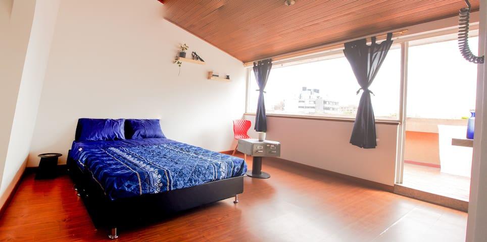 Second floor of a charming duplex with terrace - Bogotá - Lägenhet