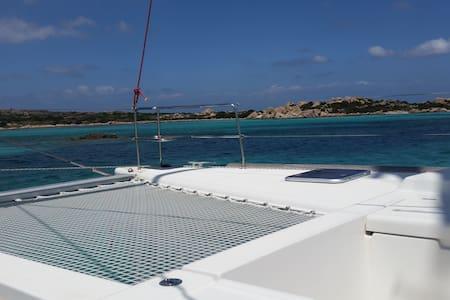 navighiamo in catamarano al fine settimana - Poltu Quatu - Boot