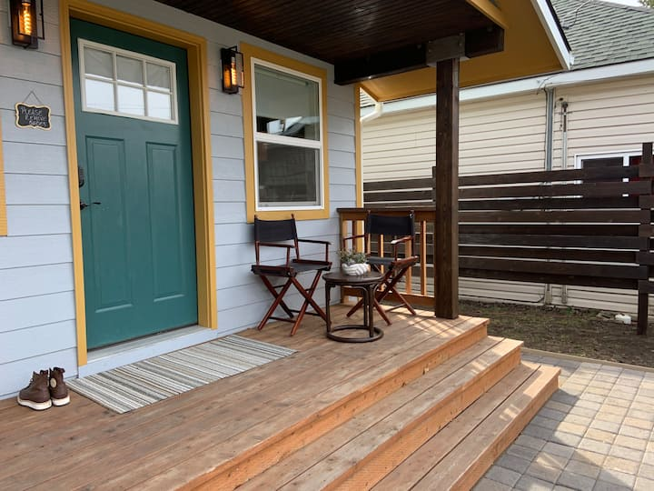 Modern Townhouse Meets Tiny House NE Oregon Living