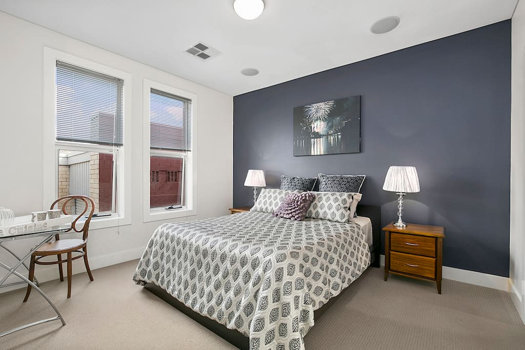 Master bedroom. Can be set as single king size or twin singles.