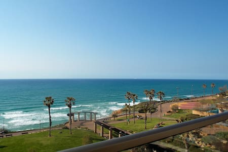 Familial Flat on Sea Front - Netanya - Appartement
