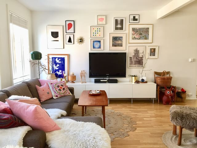 Cozy apartment in idyllic & central Kampen, Oslo