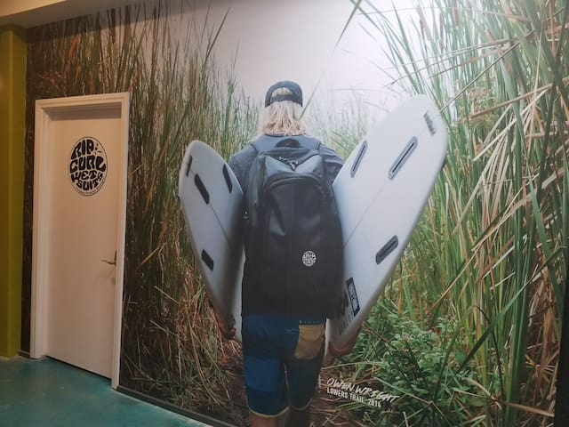 House of Trestles: Ripcurl Team Room (3)