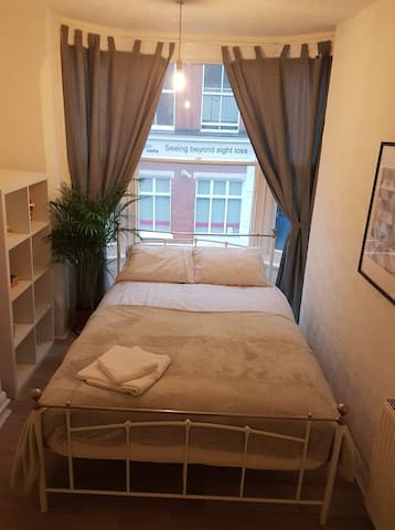 Spacious double room in a cosy City Center flat