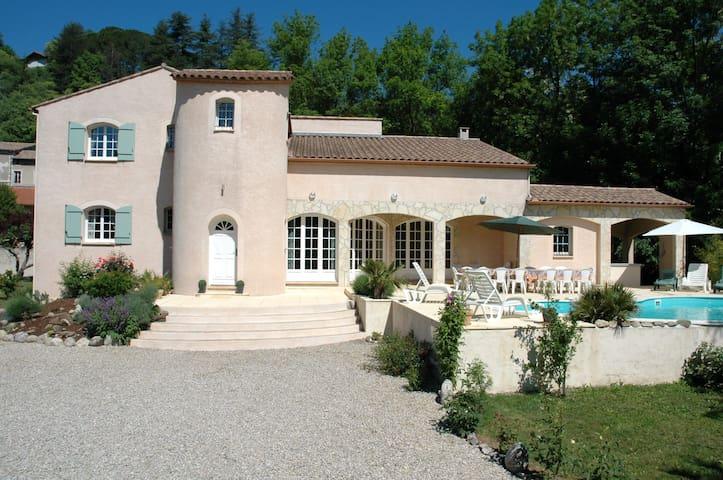 Spacious villa (19p) - South France - Le Vigan - Casa