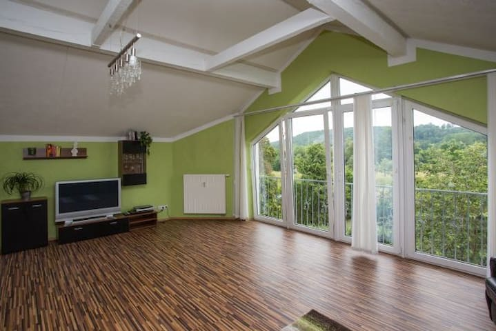 Wellness Appartement Mainblick - Michelau in Oberfranken - Huoneisto