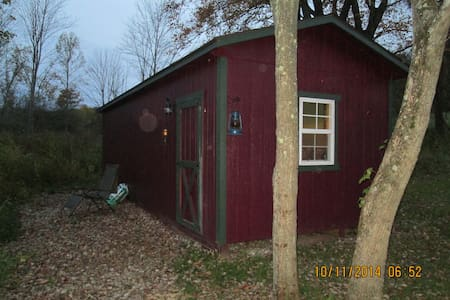 little secluded cabin on 100 acres - Uhrichsville