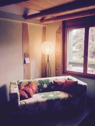 Chambre calme et lumineuse - L'Isle - Hus