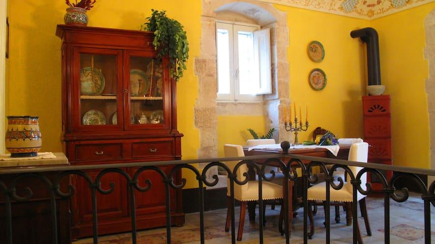 Casa liberty in stile rustico - Palazzolo Acreide - อพาร์ทเมนท์