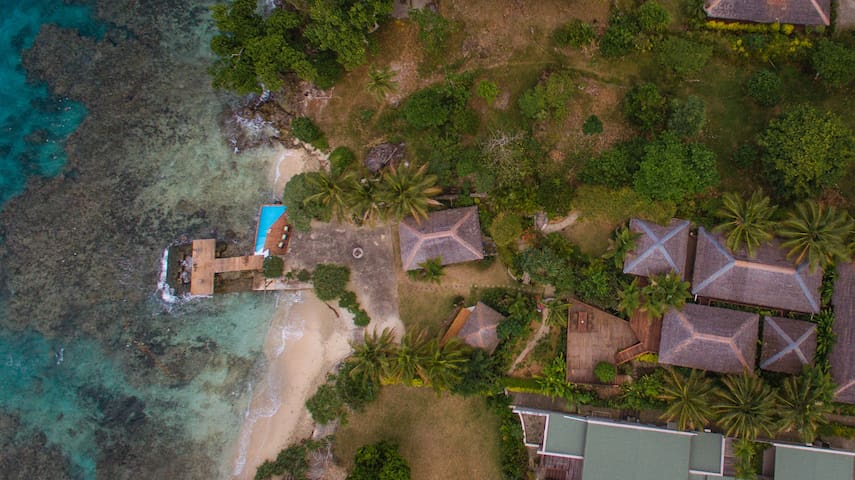 Sot Lek - Large Group Beachfront Home