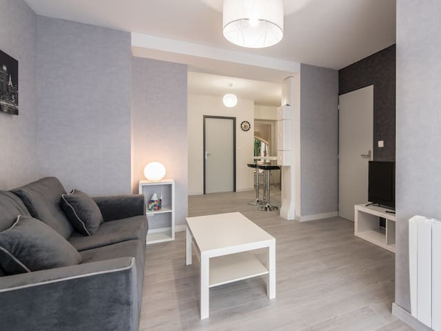 Au Coeur De La Ville -  La Terrasse Des Moulins - Bourgoin-Jallieu - Appartement