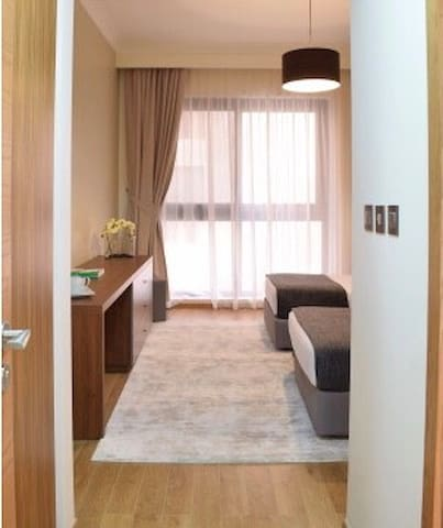 Private bedroom with ensuite