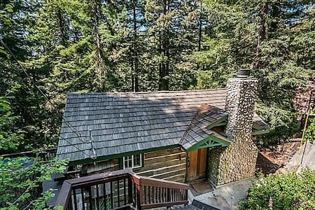 Majestic Redwood Cabin - Redwood City