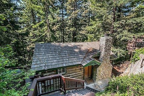 Majestic Redwood Cabin