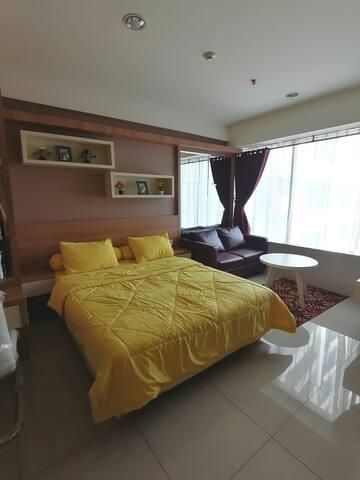 Disewakan apartement murah grand Kamala lagoon