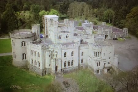 Gosford Castle near Armagh Northern Ireland