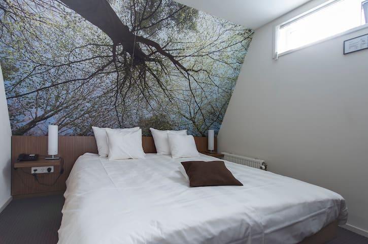 Appartement met apart slaapkamer kitchenette,airco - Oirschot - Flat