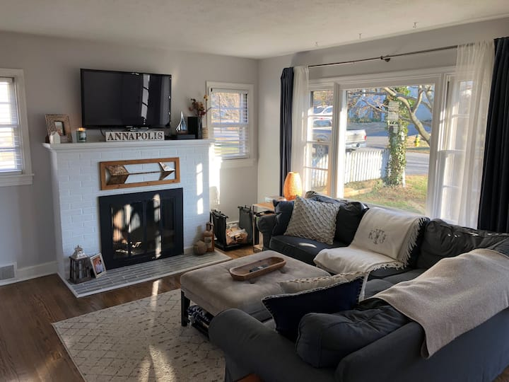 Cozy whole house in Annapolis - 3 BR/1 Bath