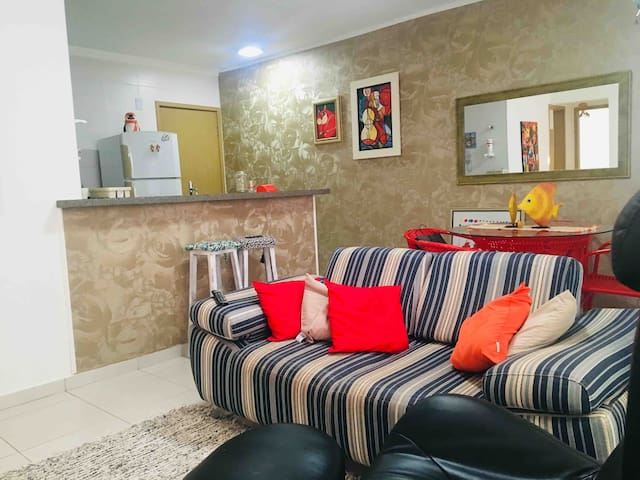 Apartamento familiar e aconchegante em Catalão-GO.