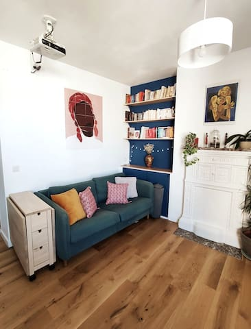 Appartement calme, confortable au bord du canal