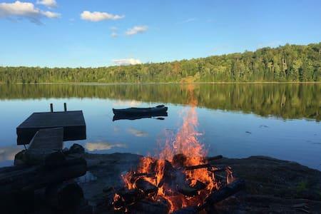 Unique Wilderness Camping on a Pristine Lake