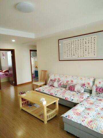 一线海景观海听涛休闲度假智慧公寓 - Weihai Shi - Espais annexos