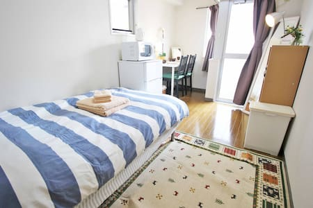 Shibuya Studio Apartment - 4 minutes to station - Apartment